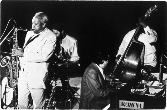 Sonny Stitt & Tete Montoliú Quartet